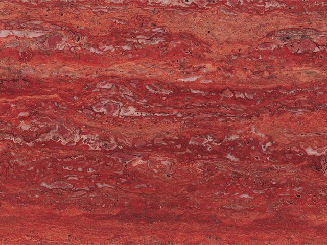 Red Travertine Marble- (India)