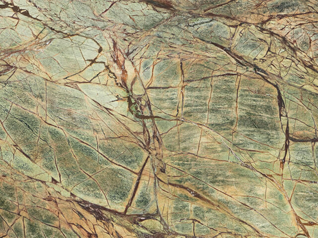 Rain Forrest Green Marble- (India)