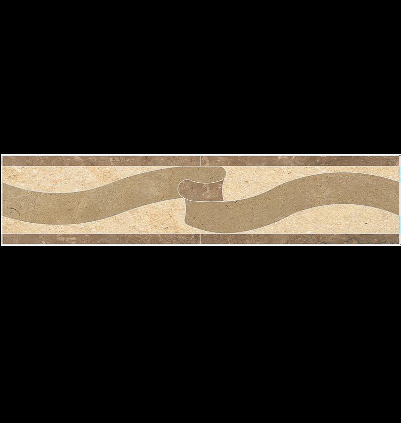 Pattern Stone Border 059
