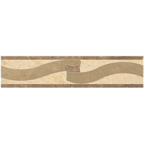 Pattern Stone Border 060