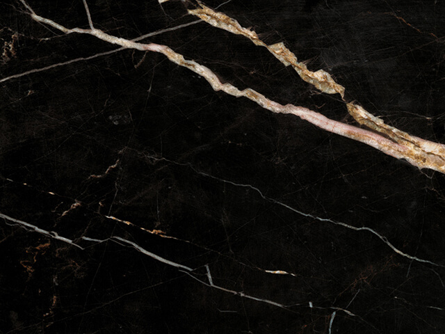 Laurent Black and Gold Marble- (China)