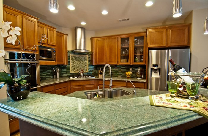 CHOOSE GRANITE WITH FENG SHUI FOR THE KITCHEN
