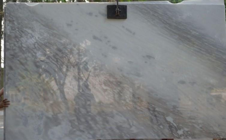 Vietnam White Cloudy marble